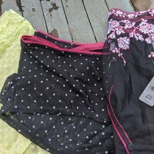 Lot of 3 The Avenue Plus Size Boy Shorts Panties